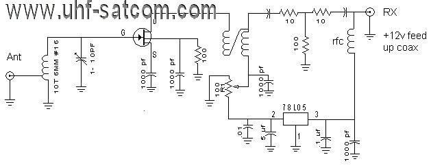 137MHz LNA Design | UHF-Satcom